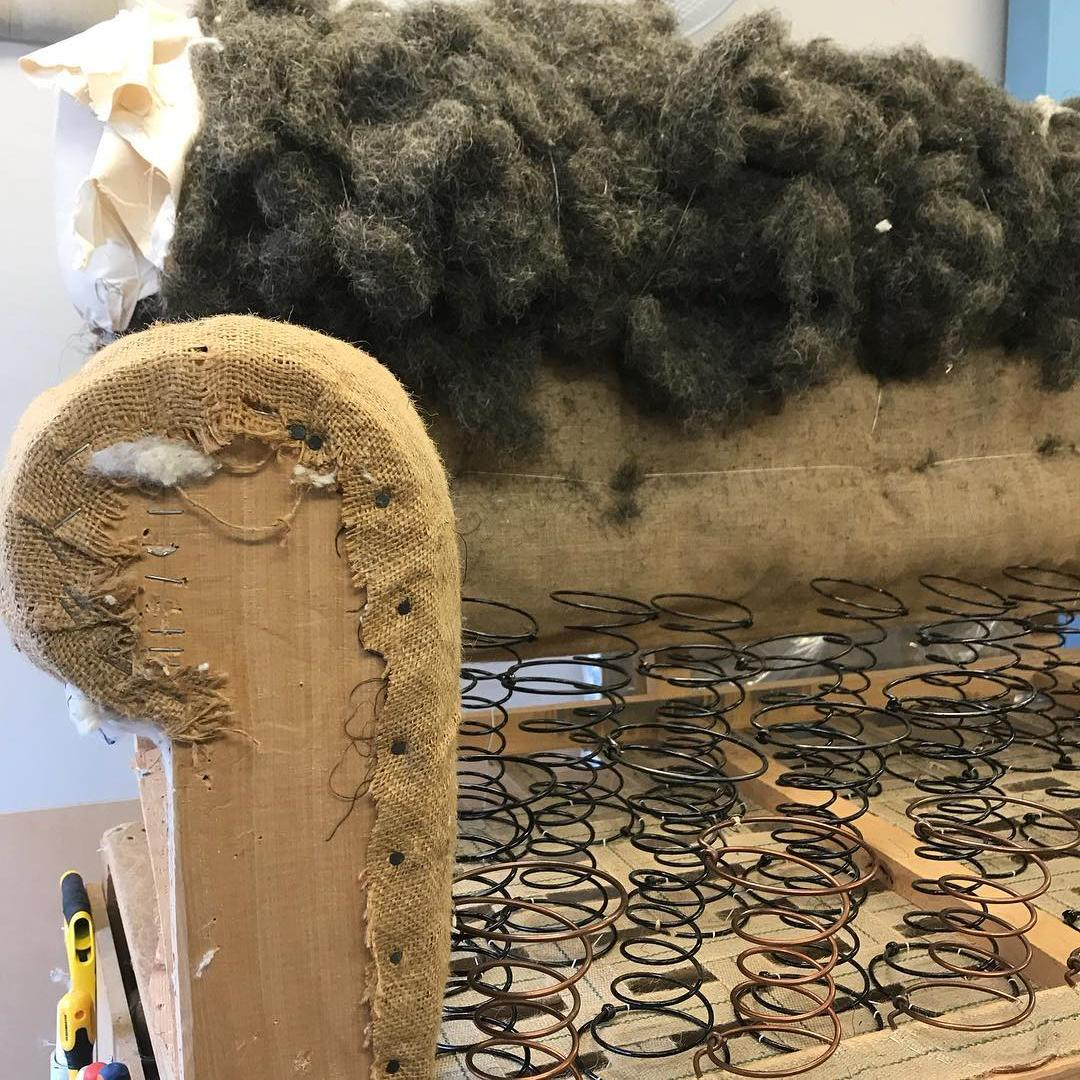 Upholstery-in-action